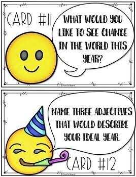 Emoji New Year's Activity