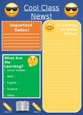 Emoji Newsletter EDITABLE FREEBIE!