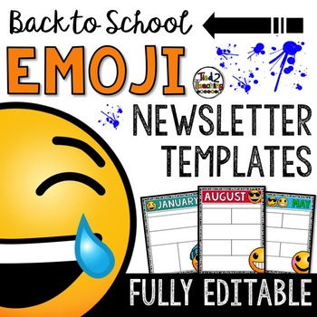 Emoji Newsletter Templates: Entire Year of Editable Templates