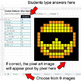 Emoji: Number Patterns: Misc Operations - Google Sheets Pixel Art