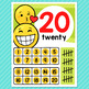 Emoji Theme Classroom Decor Number Posters