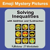 Emoji: One-Step Inequalities with Addition & Subtraction -