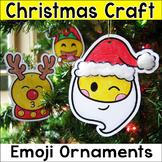 Emoji Ornaments Christmas Craft Holiday Activity