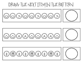 Emoji Pattern Tasks