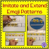 Emoji Patterns Math Binder for Autism and Special Education