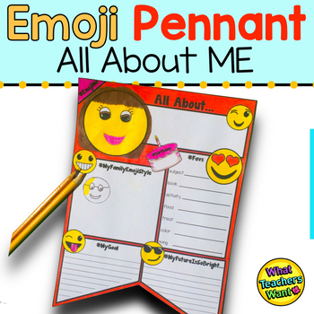Emoji Pennant - All About Me