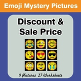 Emoji: Percents - Sale Price, Discount, Savings - Math Mys