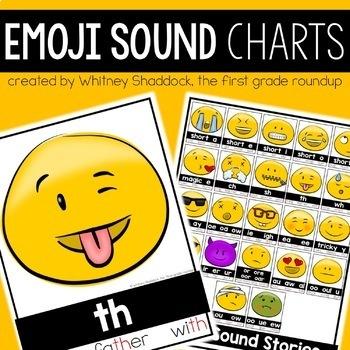 Emoji Phonics Anchor Charts