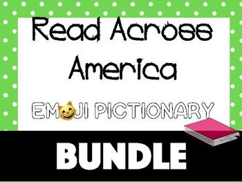 Emoji Pictionary Guessing Game BUNDLE