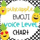 Pineapple Emoji Voice Level Chart