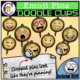 Emoji Pins Clipart