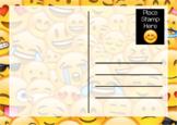 Emoji Postcard and Stationary