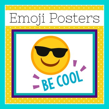 Emoji Posters | Emoji Decorations