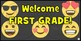Emoji Posters / Welcome Sign {PK-12} Emoji Theme Decor