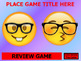 Emoji Powerpoint / Smartboard Game Template