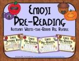 Emoji Pre-Reading Skills Autumn Big Bundle