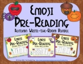 Emoji Pre-Reading Skills Autumn Bundle