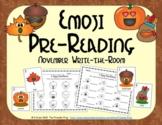 Emoji Pre-Reading Skills (November Edition)