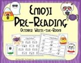 Emoji Pre-Reading Skills (October Edition)