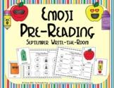Emoji Pre-Reading Skills (September Edition)