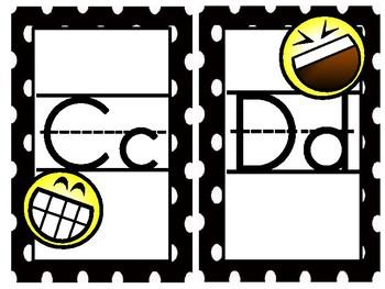 Emoji Print Alphabet