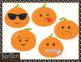 Emoji Pumpkins Clip Art