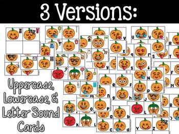 Emoji Pumpkins Literacy Center