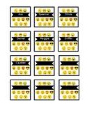 Emoji Punch Card