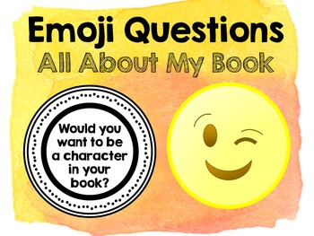 Emoji Questions - All About My Book