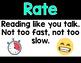 Emoji Reading Fluency Posters