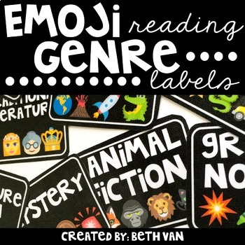 Emoji Reading Genre Labels