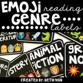 Emoji Reading Genre Labels