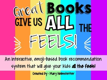 Emoji Reading - Good Books Give Us All The Feels! [Emoji Book Recommendations]