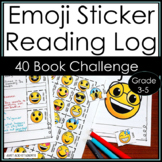 Emoji Reading Log for Independent Reading Challenge