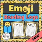 Emoji Reading Logs | March is Reading Month Reading Logs