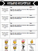 Emoji Reading Homework ~ Christmas Edition