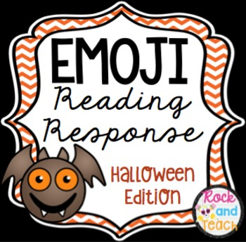 Emoji Reading Response Homework ~ Halloween Edition