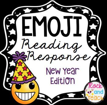 Emoji Reading Response Homework ~ New Year Edition