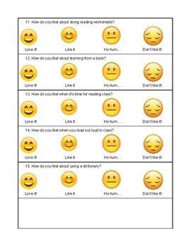 Emoji Reading Survey