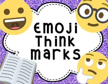 Emoji Reading Think Marks