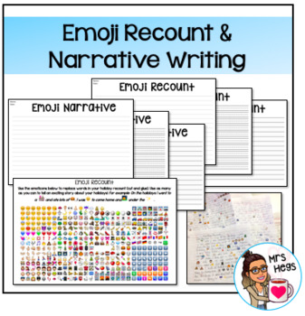 Emoji Recount or Story Writing