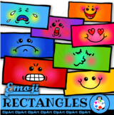 Emoji Rectangles - Clip Art Polygon Math Shapes
