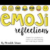 Emoji Reflections (Student Reflection Form)