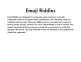 Emoji Riddles Center