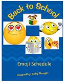 Daily Schedule - Emoji's