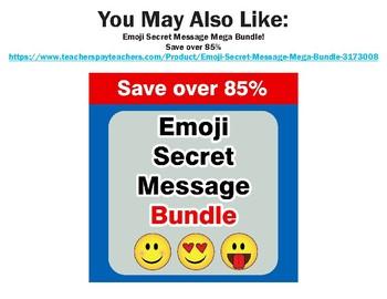Emoji Hidden Message Puzzle