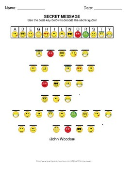 Emoji Secret Message Puzzle