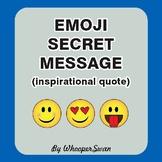 Emoji Secret Code (Hidden Message) Puzzle