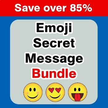 Emoji Secret Message {Mega Bundle}