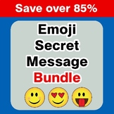 Emoji Secret Message {Mega Bundle}